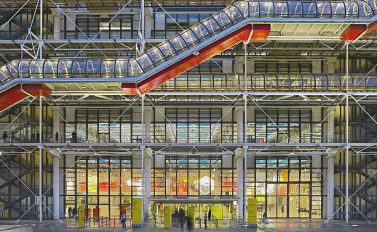 citytrip parijs centre pompidou bezienswaardigheden