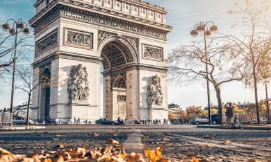 citytrip parijs arc de triomphe