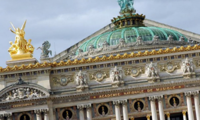 citytrip parijs opera garnier